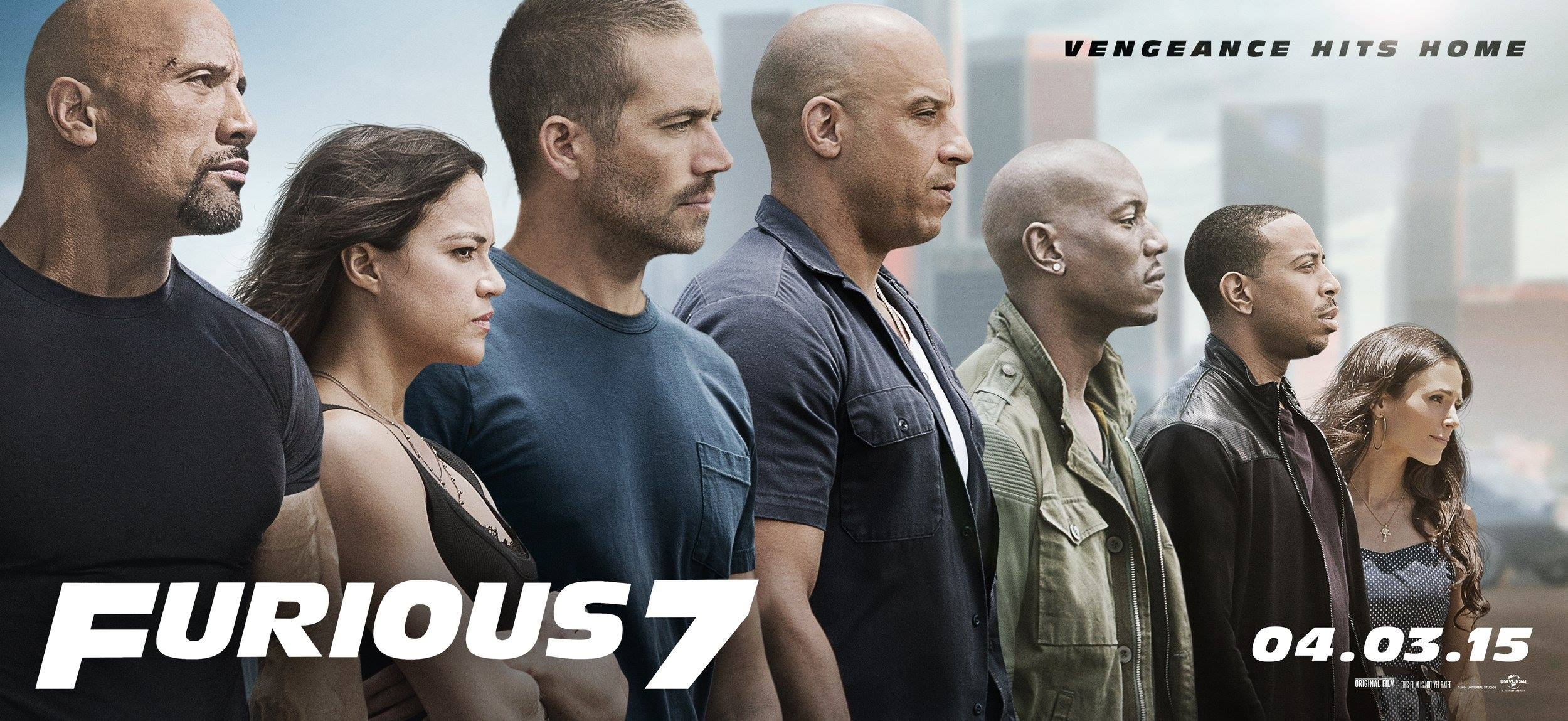 fast and furious 7 rollista