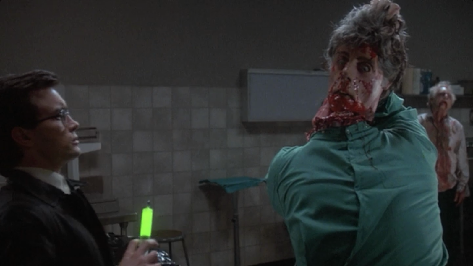 With Re-Animator, Stuart Gordon pushed horror and comedy over the line ...