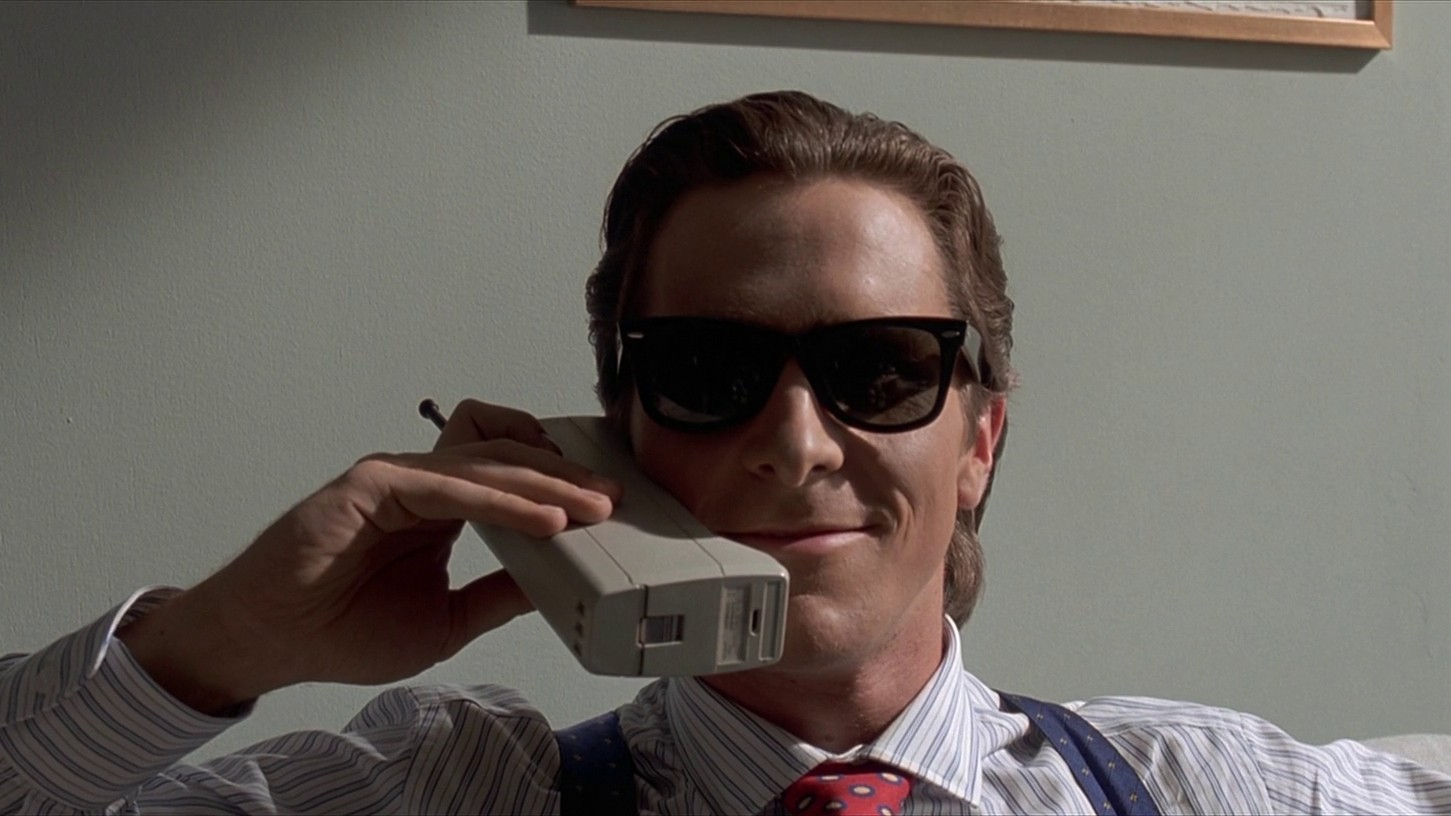 I'm writing an essay about American Psycho, but I cannot think of any topics. Some help, please?
