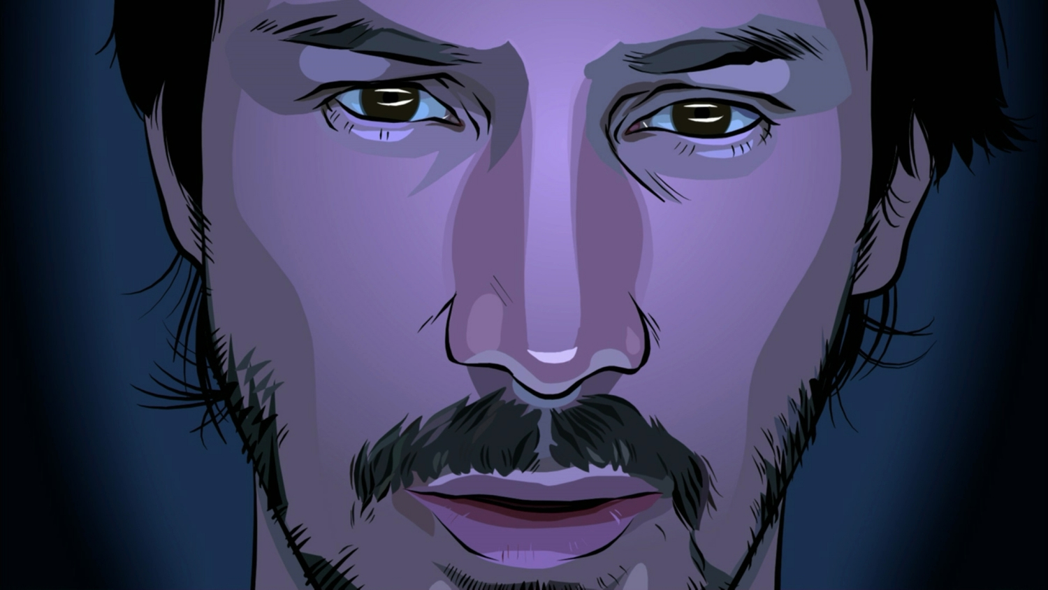 how animation stabilizes a scanner darkly�s shifting