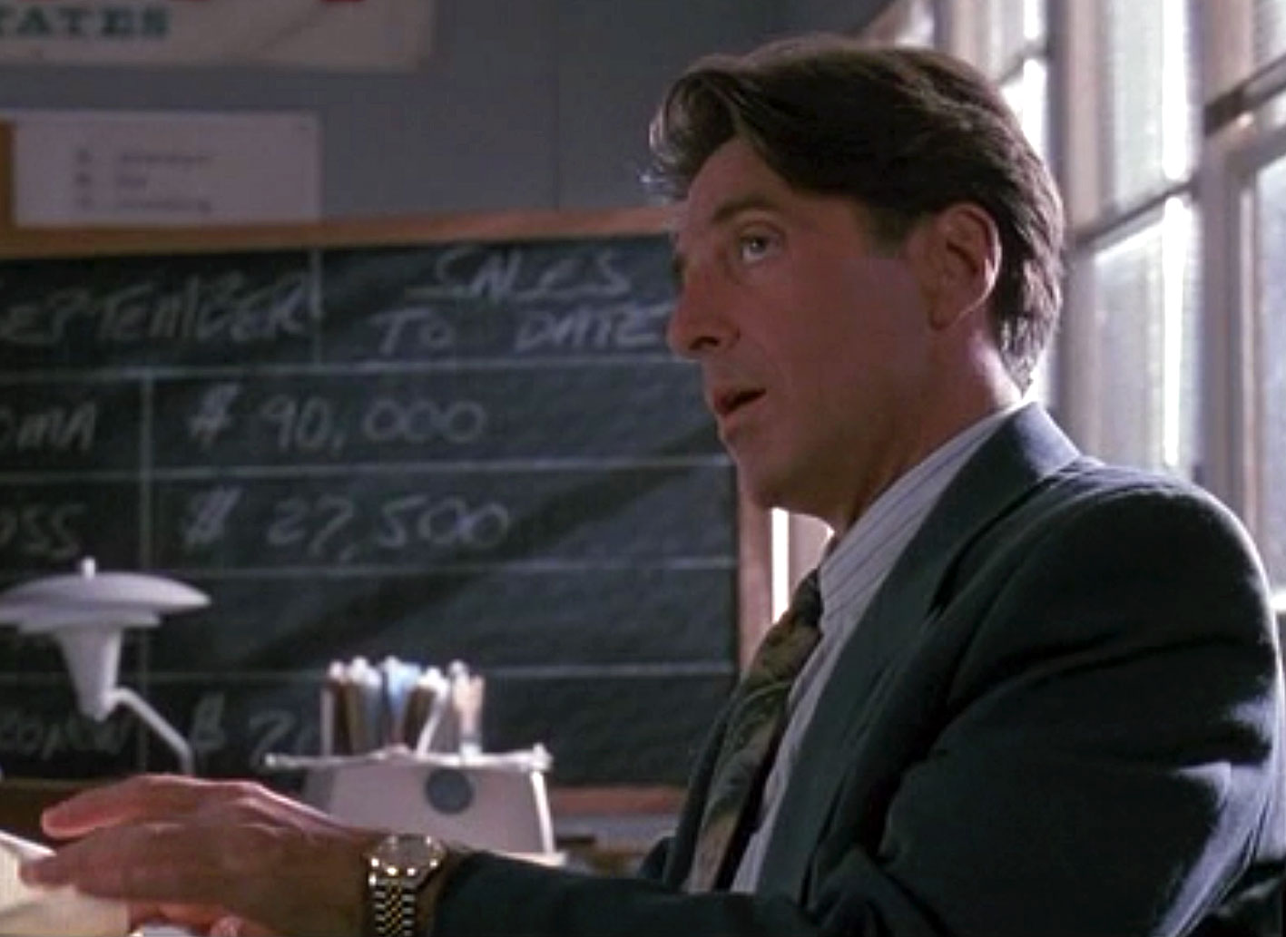 Glengarry Glen Ross had the brass balls to ignore ...