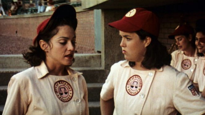 a league of their own film ending