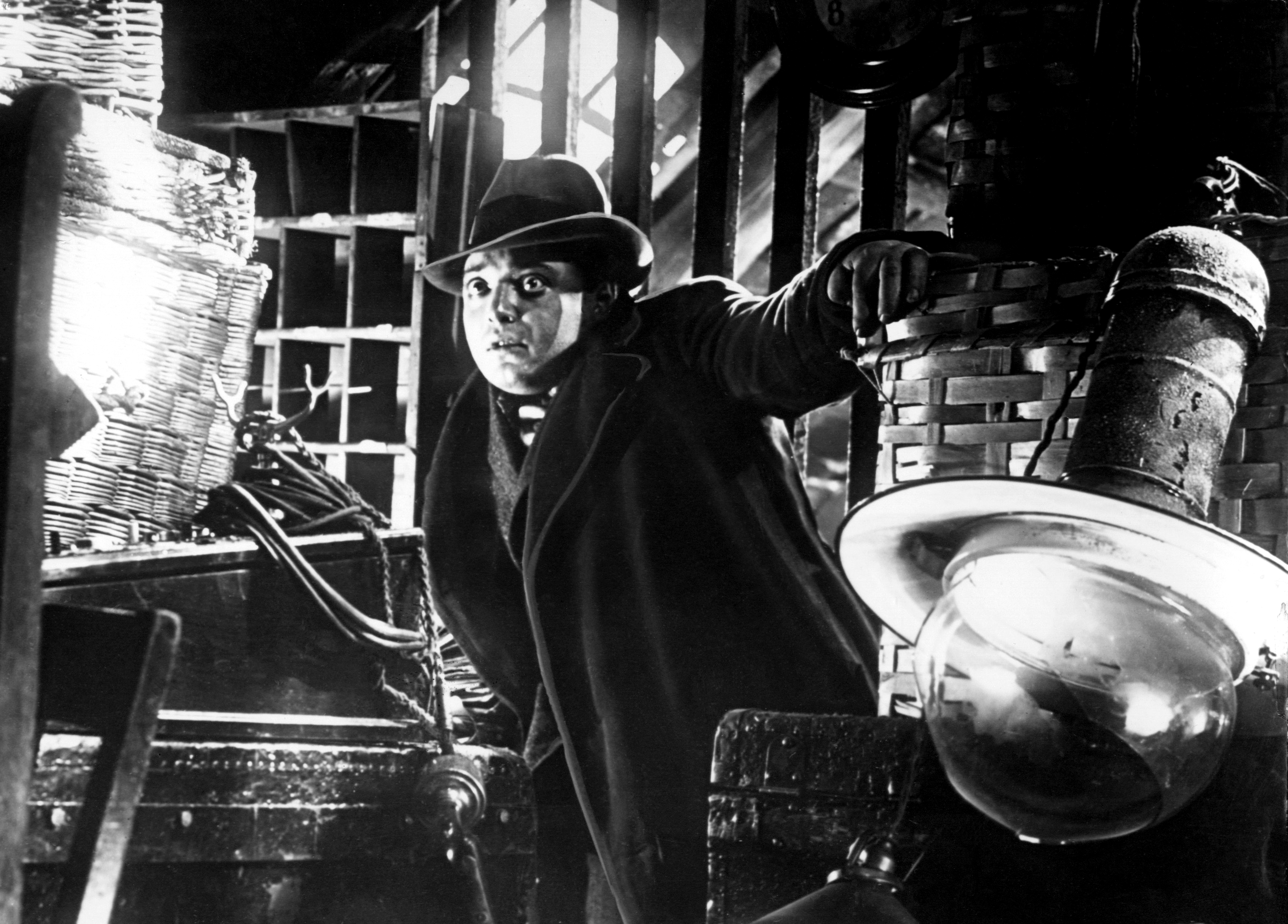 m by fritz lang Add to these fritz lang's customary excellence at expressionistic camerawork, lighting, and symbolism, creating a claustrophobic nightmare from which the killer, his victims.