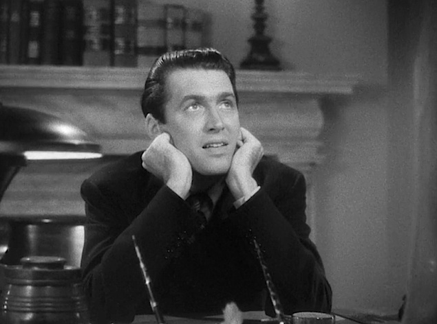 in mr smith goes to washington frank capra stood up for a simple  note also how often stewart is not only small but seated as he s lectured about his misplaced idealism or fundamental confusion about washington