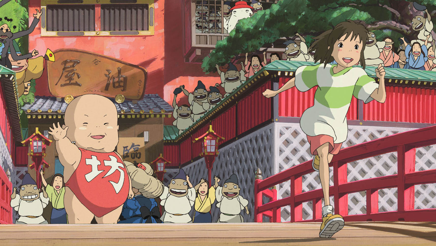The Gross Fluids And Clean Fluidity Of Spirited Away The Dissolve