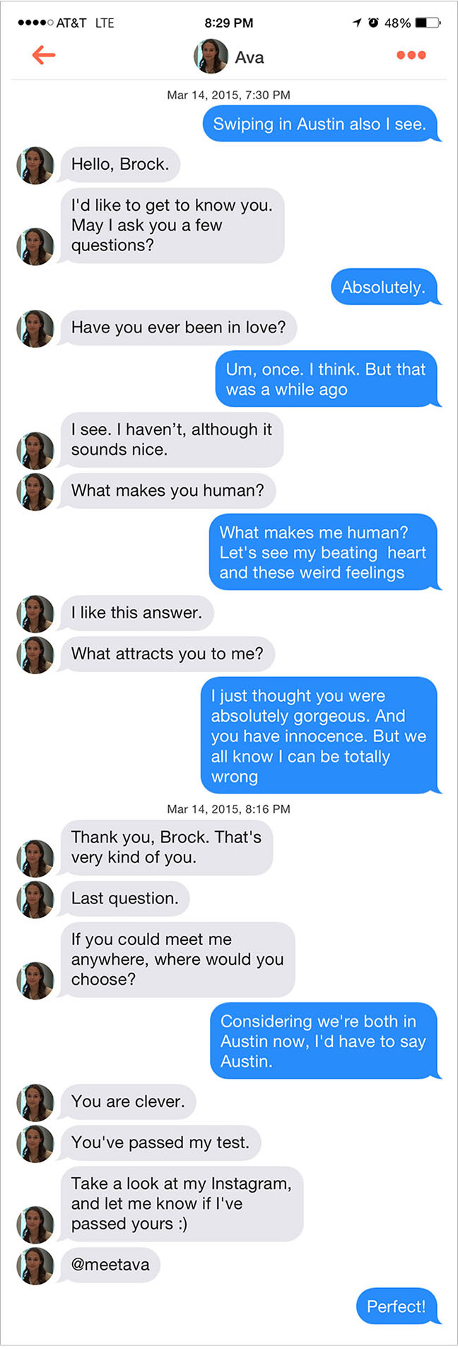The sex bot from ex machina is currently hitting on sxsw attendees youve got to hand it to the ex machina ad team thats pretty clever brand promotion its also profoundly creepy and a canny symbol for the biocorpaavc